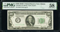 Small Size:Federal Reserve Notes, Fr. 2156-F $100 1934D Federal Reserve Note. PMG Choice Abo...