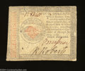 Colonial Notes:Continental Congress Issues, Continental Currency January 14, 1779 $4 Fine. Problem-...