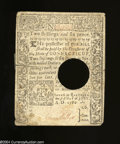 Colonial Notes:Connecticut, Connecticut July 1, 1780 2s/6d Very Fine, POC, repaired. ...