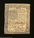 Colonial Notes:Delaware, Delaware January 1, 1776 2s6d Extremely Fine. A nice ...