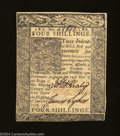 Colonial Notes:Delaware, Delaware January 1, 1776 4s Very Choice New. All that ...