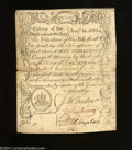 Colonial Notes:Massachusetts, Massachusetts August 18, 1775 40s Very Fine-Extremely Fine.