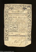 """Colonial Notes:Rhode Island, Rhode Island May, 1786 3 Pounds Fine. The back reads """"..."""