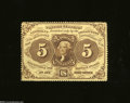 Fractional Currency:First Issue, Fr. 1229 5c First Issue Extremely Fine-About Uncirculated.
