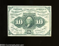 Fractional Currency:First Issue, Fr. 1242 10c First Issue Very Fine. Most of the folds for ...