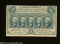 Fractional Currency:First Issue, Fr. 1310 50c First Issue Crisp Uncirculated.This is an ...