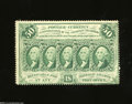 Fractional Currency:First Issue, Fr. 1311 50c First Issue Extremely Fine.Three very light ...