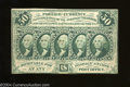 Fractional Currency:First Issue, Fr. 1313 50c First Issue Very Fine-Extremely Fine.This is ...