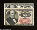 Fractional Currency:Fifth Issue, Fr. 1309 25c Fifth Issue Two Examples. One note grades
