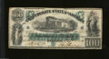 Confederate Notes:1861 Issues, T5 $100 1861. This scarce early CSA type, commonly called ...