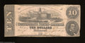 Confederate Notes:1862 Issues, T52 $10 1862. An always popular type due to its pink paper ...