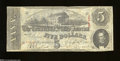 Confederate Notes:1863 Issues, T60 $5 1863. This evenly circulated $5 is crisp with ...