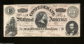 Confederate Notes:1864 Issues, T65 $100 1864. This Series 1 crispy C-note has nice color ...