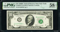 Small Size:Federal Reserve Notes, Fr. 2020-B* $10 1969B Federal Reserve Star Note. PMG Choice About Unc 58 EPQ.. ...