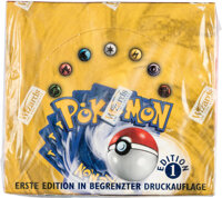 Pokémon German First Edition Base Set Sealed Booster Box (Wizards of the Coast, 1999)