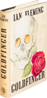 Ian Fleming. Goldfinger. London: Jonathan Cape, [1959]. First edition, first impression, first