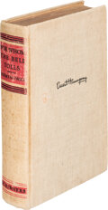 Books:Signed Editions, Ernest Hemingway. For Whom the Bell Tolls. New York: Charles Scribner's Sons, 1940. First edition, later printing. ...