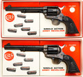 Handguns:Single Action Revolver, [PAIR] Boxed and Consecutively Serialized Colt Second Generation Single Action Army Revolvers.. ...