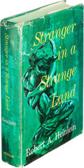 Books:First Editions, Robert A. Heinlein. Stranger in a Strange Land. New York: G.P. Putnam's Sons, [1961]. First edition, first issue wit...