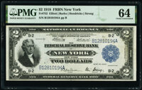 Fr. 752 $2 1918 Federal Reserve Bank Note PMG Choice Uncirculated 64