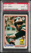 Baseball Cards:Singles (1970-Now), 1978 Topps Eddie Murray (All-Star Rookie) #36 PSA NM-MT 8....