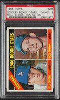Baseball Cards:Singles (1960-1969), 1966 Topps Don Sutton - Dodgers Rookies #288 PSA NM-MT 8.