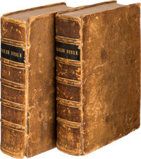 The Holie Bible. Faithfully translated into English, out of the authentical Latin.. Doway: Prin