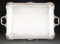 Silver & Vertu, A Charles Favell & Co. Silver Tray, Sheffield, 1905. Marks: (lion passant), (crown), C F & Co., n, HENRY WELLS, ...