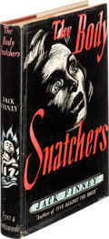 Books:Signed Editions, Jack Finney, pseudonym; [Walter Bradden Finney]. The Body Snatchers. London: Eyre & Spottiswoode, 1955. First Englis...