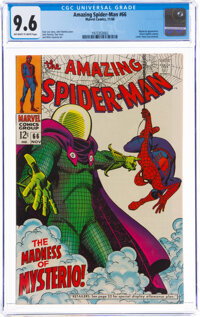 The Amazing Spider-Man #66 (Marvel, 1968) CGC NM+ 9.6 Off-white to white pages