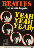 Movie Posters:Rock and Roll, A Hard Day's Night (United Artists, 1964). Rolled, Fine/Ve...