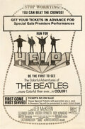 Movie Posters:Rock and Roll, Help! (United Artists, 1965). Rolled, Very Good+. ...