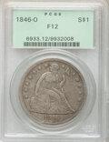 1846-O $1 Fine 12 PCGS. PCGS Population: (6/337). NGC Census: (3/181). CDN: $350 Whsle. Bid for NGC/PCGS Fine 12. Mintag...