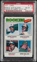 Baseball Cards:Singles (1970-Now), 1977 Topps Andre Dawson - Rookie Outfielders #473 PSA NM-M...