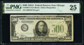 Small Size:Federal Reserve Notes, Fr. 2202-G $500 1934A Federal Reserve Note. PMG Very Fine ...