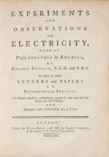 Books:Americana & American History, Benjamin Franklin. Experiments and Observations on Electricity, made at Philadelphia in America...To which are add...