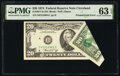 Error Notes:Foldovers, Printed Fold Error Fr. 2071-D $20 1974 Federal Reserve Note. PMG Choice Uncirculated 63 EPQ.. ...