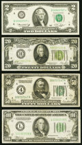 Small Size:Group Lots, Fr. 1935-D* $2 1976 Federal Reserve Star Note. Crisp Uncir...