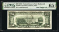 Face To Back Offset Printing of Insufficient Magnetic Ink Error Fr. 2081-E $20 1995 Federal Reserve Note. PMG Gem Uncirc...