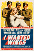 Movie Posters:War, I Wanted Wings (Paramount, 1941). Fine- on Linen. ...