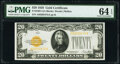 Small Size:Gold Certificates, Fr. 2402 $20 1928 Gold Certificate. PMG Choice Uncirculate...