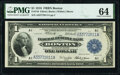 Fr. 710 $1 1918 Federal Reserve Bank Note PMG Choice Uncirculated 64