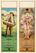 """Movie Posters:Comedy, Circus Days (First National, 1923). Fine/Very Fine on Linen. One Sheet (27.5"""" X 41"""").. ..."""