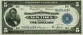 Fr. 782 $5 1918 Federal Reserve Bank Note PMG Choice Uncirculated 63 EPQ