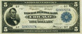 Fr. 795 $5 1918 Federal Reserve Bank Note PMG Very Fine 30 EPQ