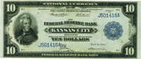 Fr. 818 $10 1915 Federal Reserve Bank Note PMG Choice About Unc 58 EPQ