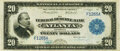 Fr. 822 $20 1915 Federal Reserve Bank Note PMG Extremely Fine 40