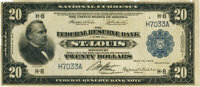 Fr. 825 $20 1918 Federal Reserve Bank Note PMG Choice Fine 15