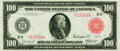 Fr. 1079a $100 1914 Red Seal Federal Reserve Note PMG Very Fine 30