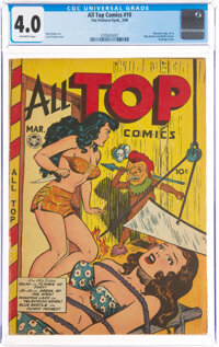 All Top Comics #10 (Fox Features Syndicate, 1948) CGC VG 4.0 Off-white pages